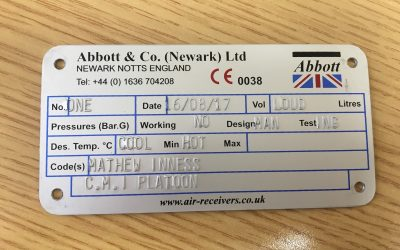 Head of Engineering visits Abbott & Co (Newark) Ltd