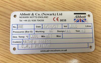 Head of Engineering visits Abbott & Co (Newark) Ltd